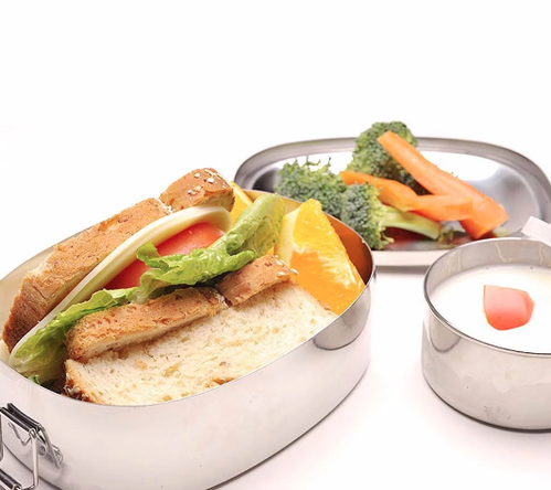 Lunchbox Oval and Snack Cup