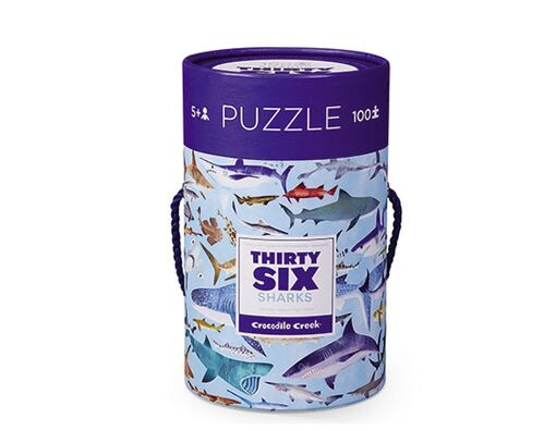 Puzzle 100 pc. 36 Sharks