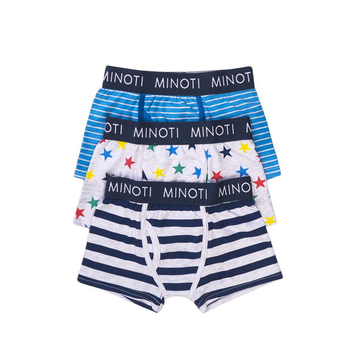 Pack 3 calzoncillos boxer stars